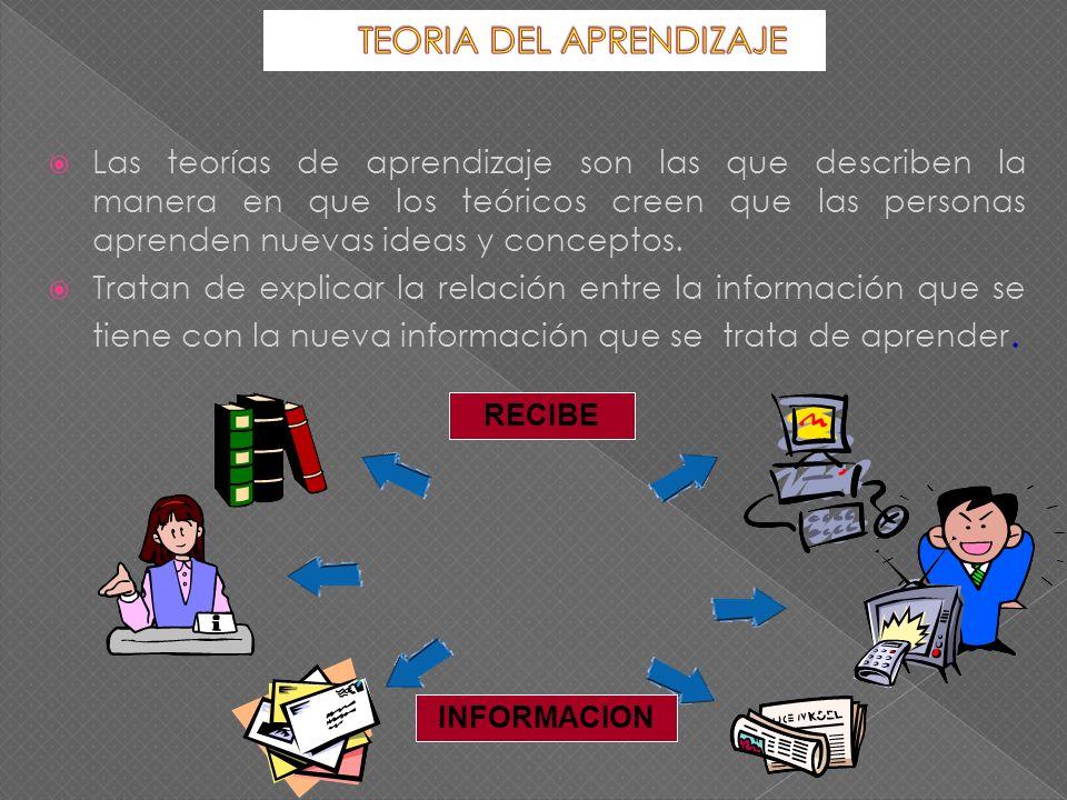 1.La experiencia: método ensayo error 2. La información y provisión de datos.
