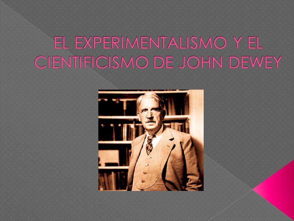 Fue un filosofo, pedagogo y psicólogo estadounidense.
