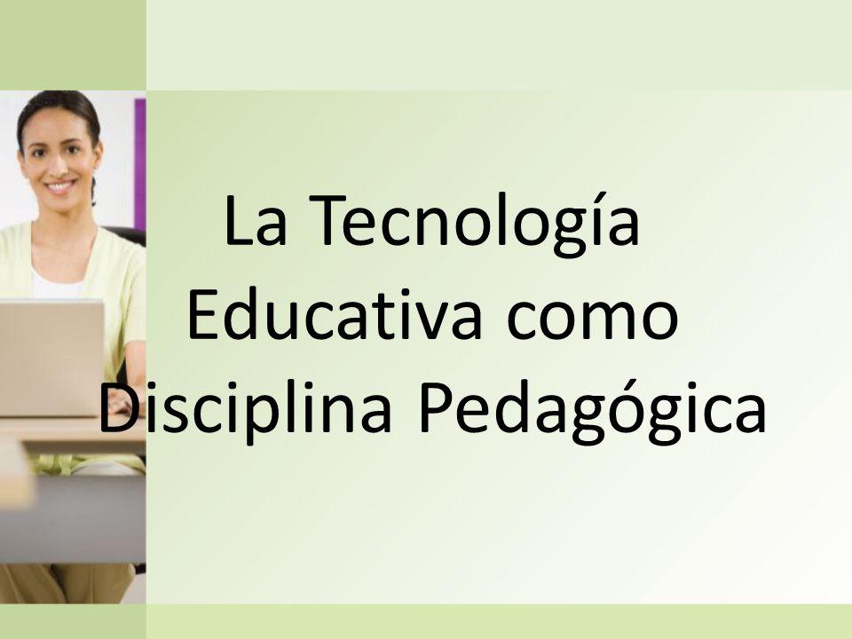 La construcción de la Tecnología Educativa como disciplina pedagógica a lo largo del siglo XX