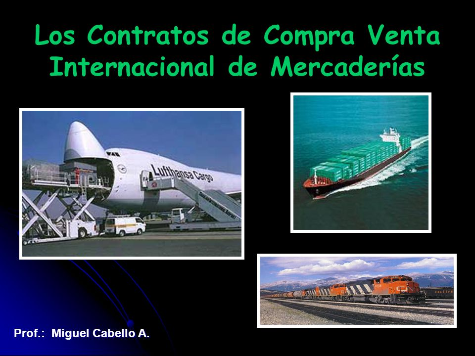Contrato de Compra-venta Internacional Contrato de Transporte Internacional Contrato de Seguro de Transporte Contrato de Depósito Contrato Bancario Crédito Documentario Cobranza Documentaria Red Contractual en Comercio Internacional