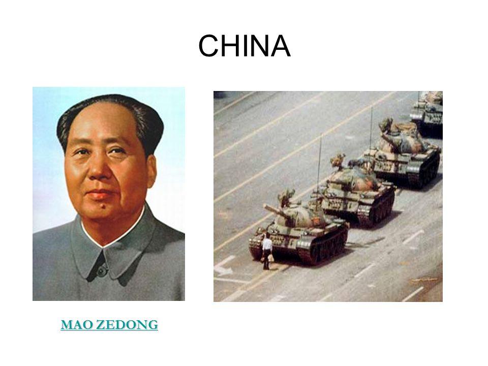 CHINA MAO ZEDONG MAO ZEDONG