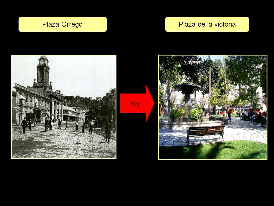 hoy Plaza OrregoPlaza de la victoria