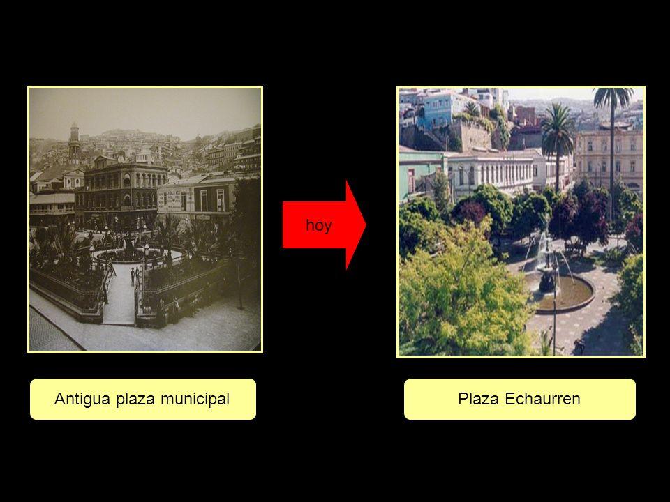 hoy Antigua plaza municipalPlaza Echaurren
