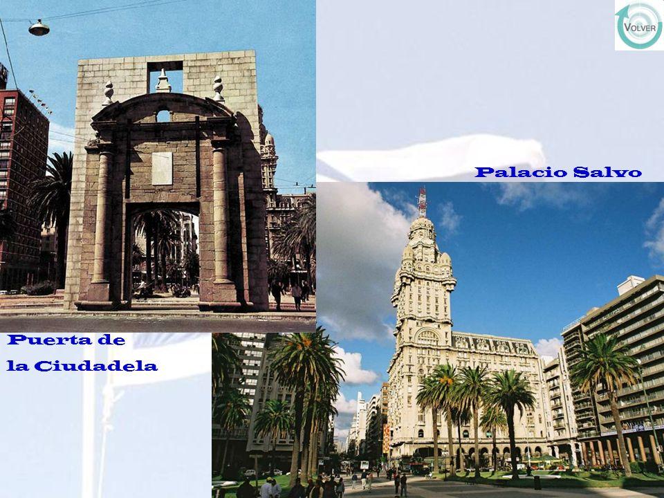Puerta de la Ciudadela Palacio Salvo