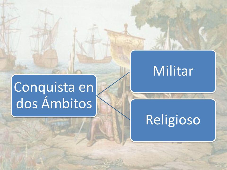 Conquista en dos Ámbitos MilitarReligioso