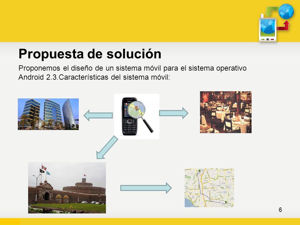 Alcance de la Propuesta 7 La investigación beneficiará: A todos los turistas que llegan al departamento de Lima.