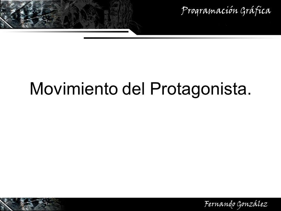 Movimiento del Protagonista.