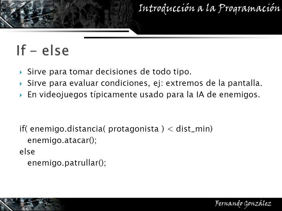 Ejercicio: Crear función que determine dado un cierto estado del tablero, si es que puede ganar un jugador o no.