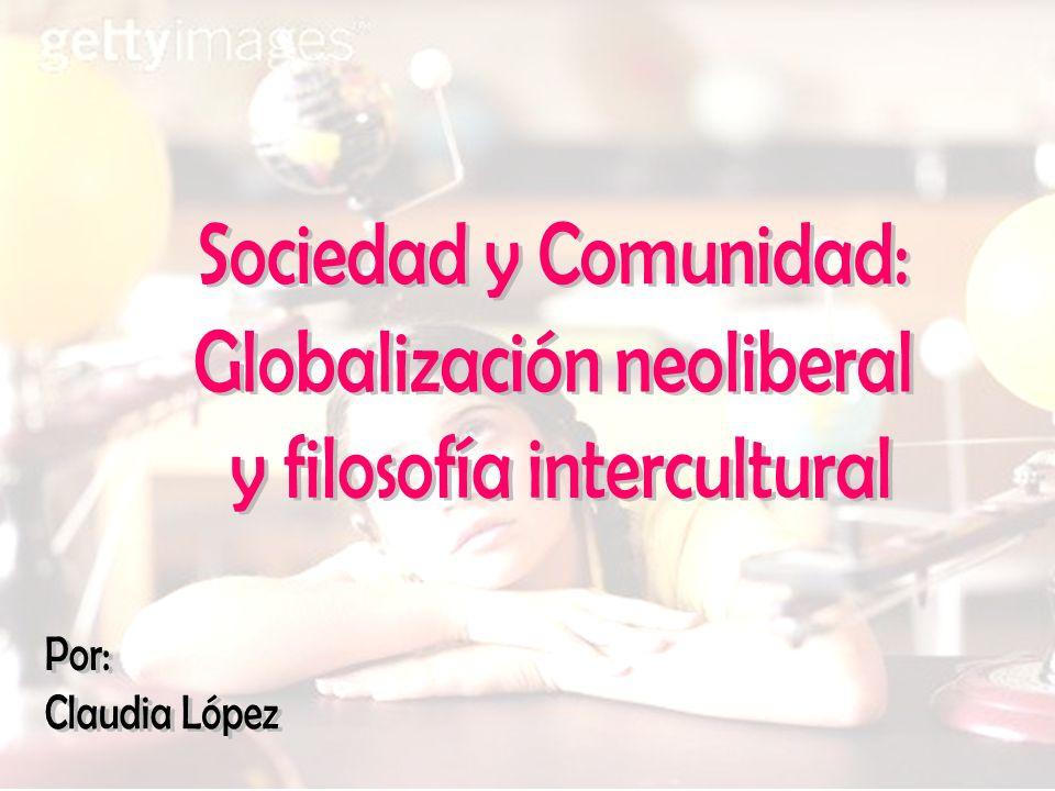 Modernidad Cultura La cultura subsiste si la sociedad le proporciona el ambiente donde la persona se desarrolle Política/ Sociedad La sociedad solo puede ser comprendida y definida por el complemento de persona y cultura (son inseparables).