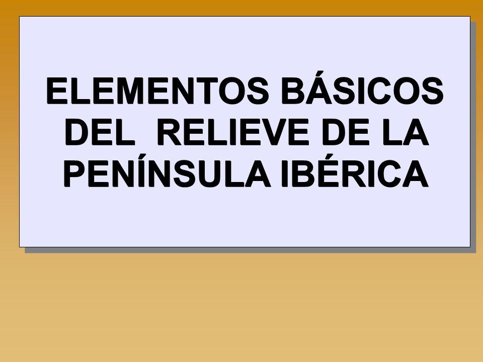 VOCABULARIO ESPECÍFICO -Meseta: Llanura extensa y elevada a cierta altitud sobre el nivel del mar.