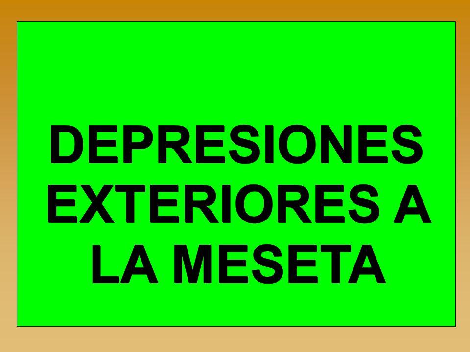 DEPRESIONES EXTERIORES A LA MESETA