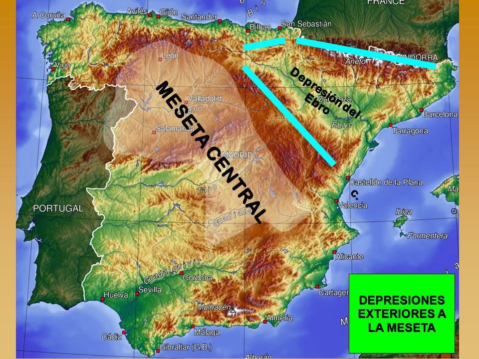 Depresión del Ebro C. MESETA CENTRAL