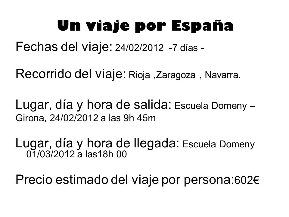 Un viaje por España Fechas del viaje: 24/02/2012 -7 días - Recorrido del viaje: Rioja,Zaragoza, Navarra.