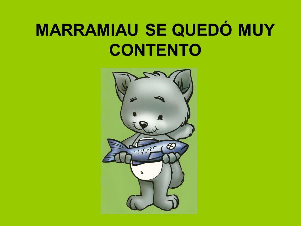 MARRAMIAU SE QUEDÓ MUY CONTENTO