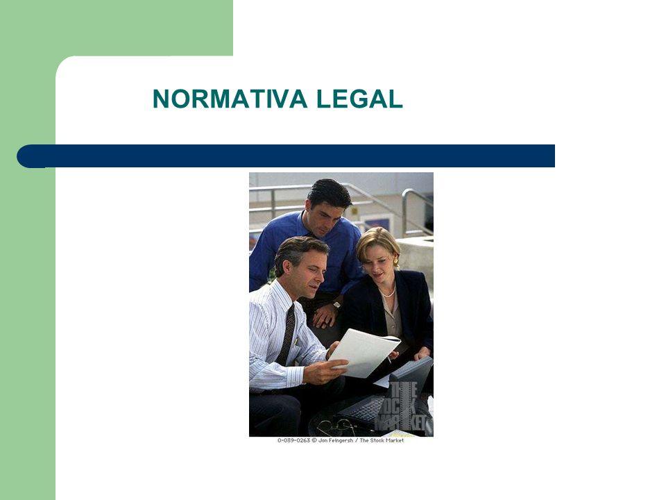 NORMATIVA LEGAL