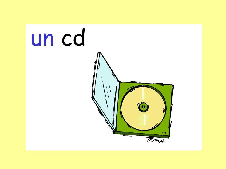 un cd