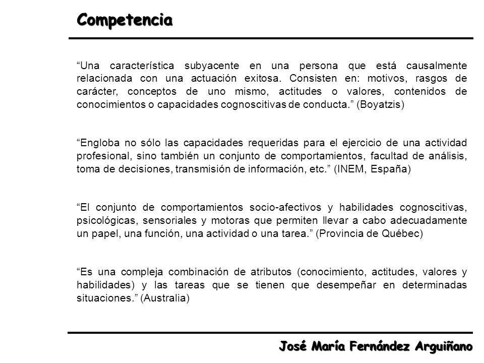 Competencias Genéricas (HayGroup) José María Fernández Arguiñano 17.