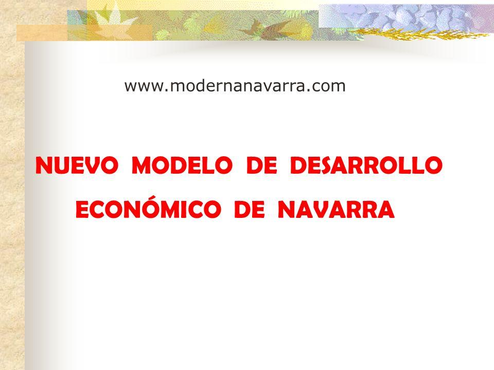 NUEVO MODELO DE DESARROLLO ECONÓMICO DE NAVARRA www.modernanavarra.com