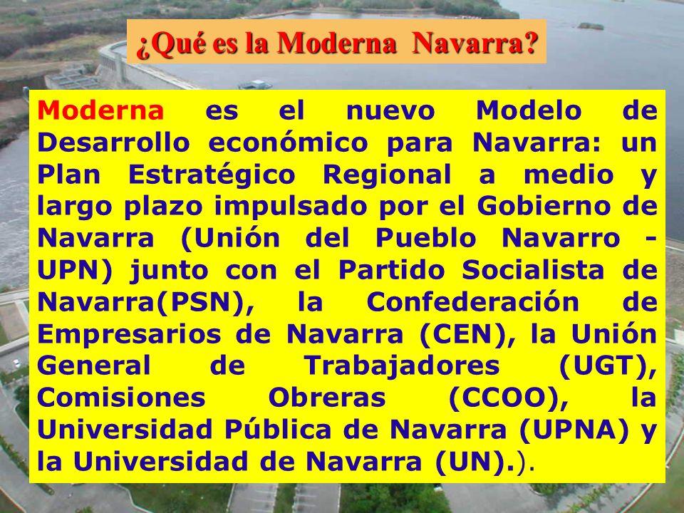 Moderna es el nuevo Modelo de Desarrollo económico para Navarra: un Plan Estratégico Regional a medio y largo plazo impulsado por el Gobierno de Navar