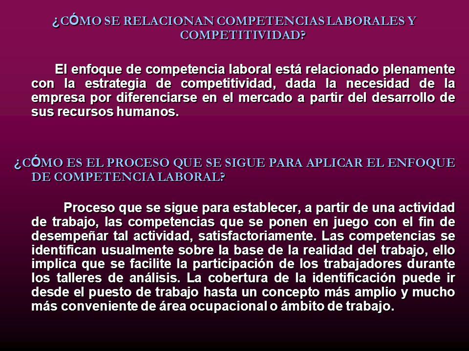 NORMALIZACIÓN DE COMPETENCIAS Y NORMAS DE CALIDAD ¿QUÉ SON LAS NORMAS DE COMPETENCIAS.