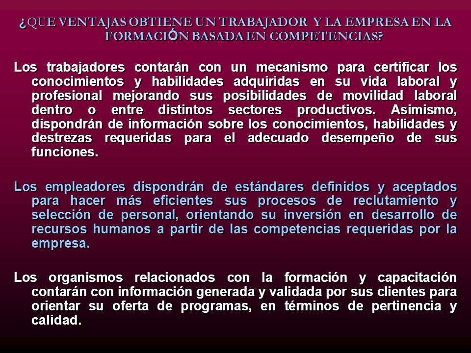 INDENTIFICACIÓN DE COMPETENCIAS ¿ QU É ES EL AN Á LISIS OCUPACIONAL.