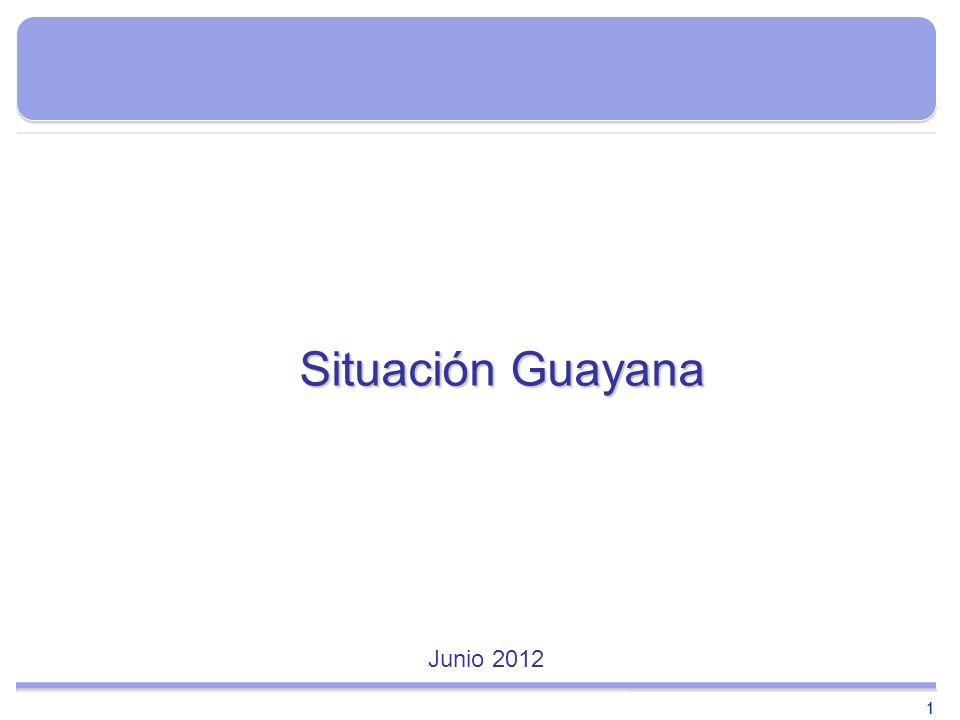 11 Situación Guayana Junio 2012