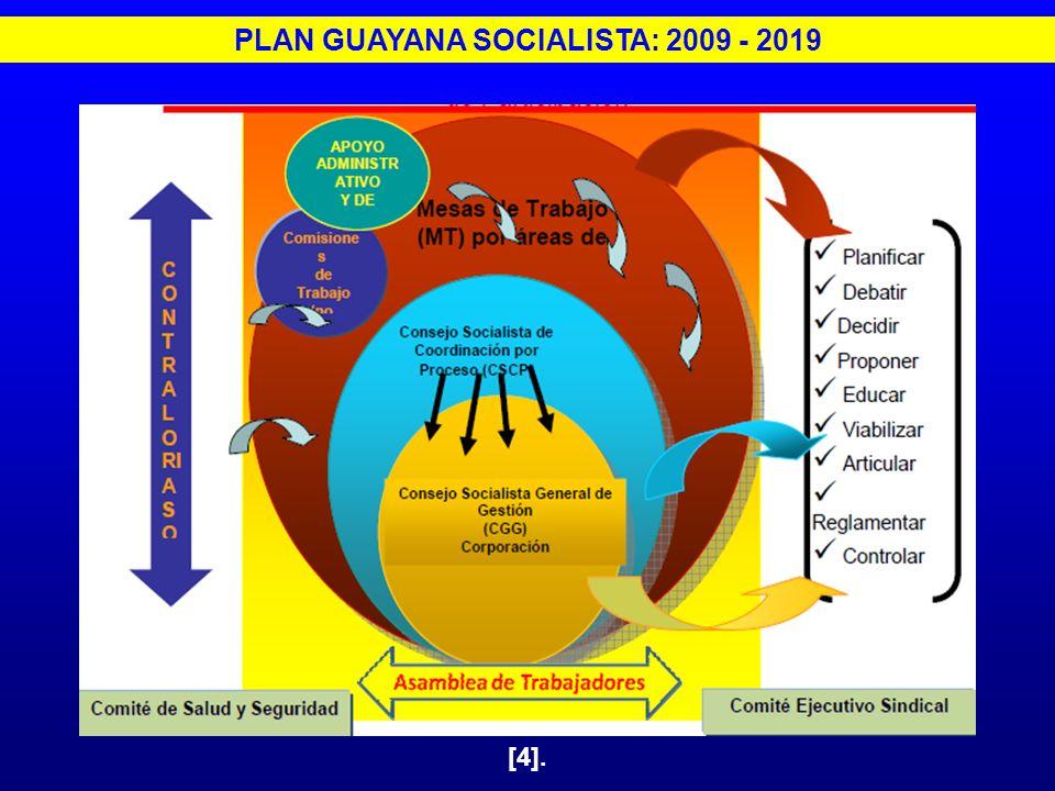 PLAN GUAYANA SOCIALISTA: 2009 - 2019 [4].