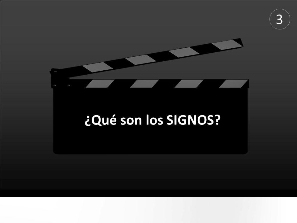 ¿Qué son los SIGNOS? 3