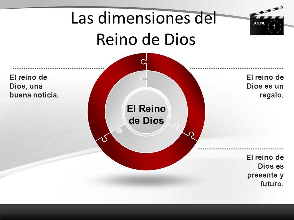 El Reino es una buena noticia La salvación prometida por Dios ya está presente por medio del mesías (Jesús).