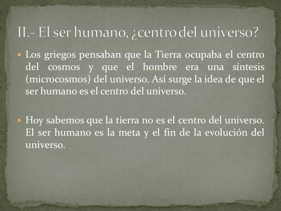 ¿Qué sentido tiene este devenir.¿Está dirigida la evolución?...