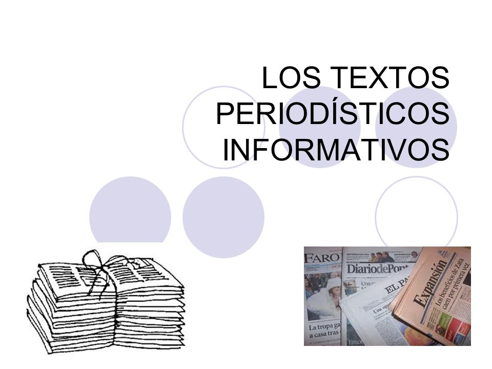 3) Híbridos o Mixtos Son aquellos que poseen elementos de información y opinión mezclados.