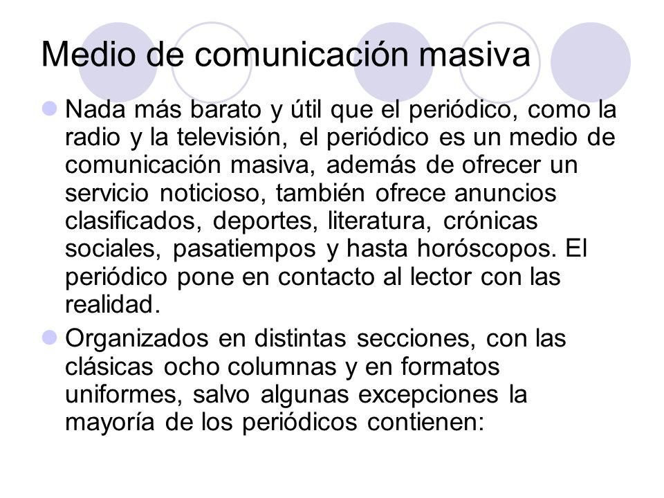 El periódico Estrategias para el estudio y la comunicación.