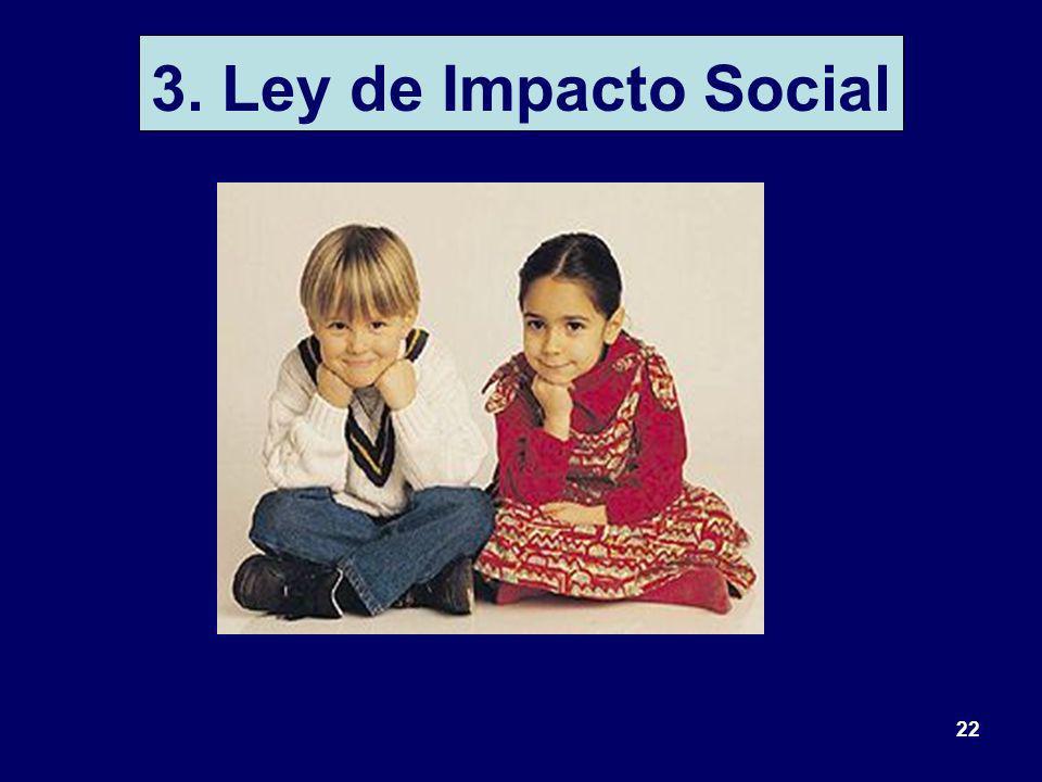 22 3. Ley de Impacto Social