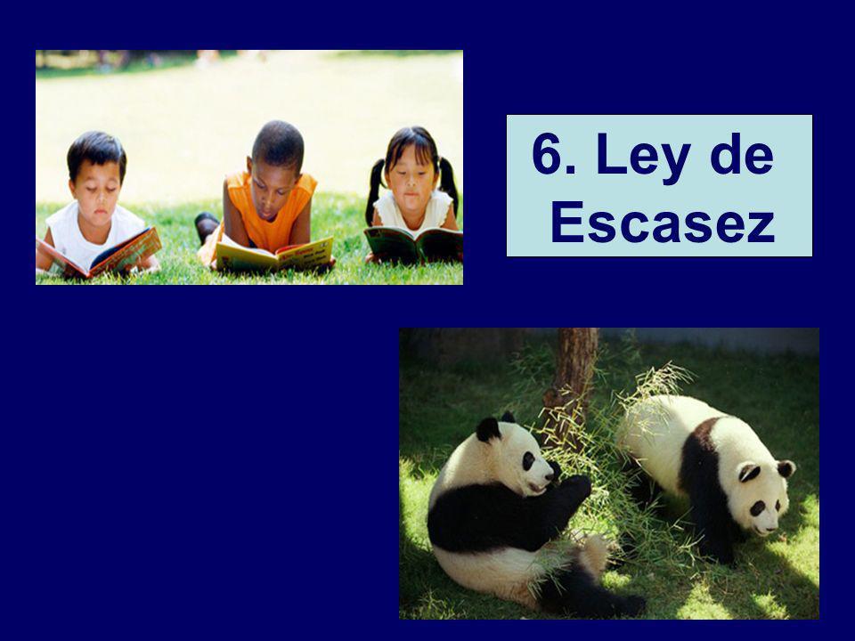 32 6. Ley de Escasez