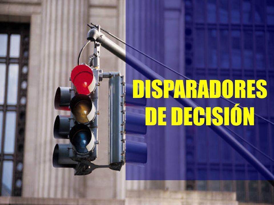 4 DISPARADORES DE DECISIÓN