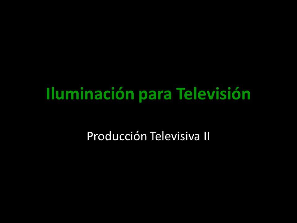 Iluminación para Televisión Producción Televisiva II