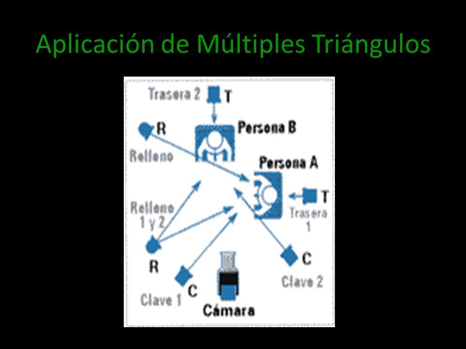 Aplicación de Múltiples Triángulos