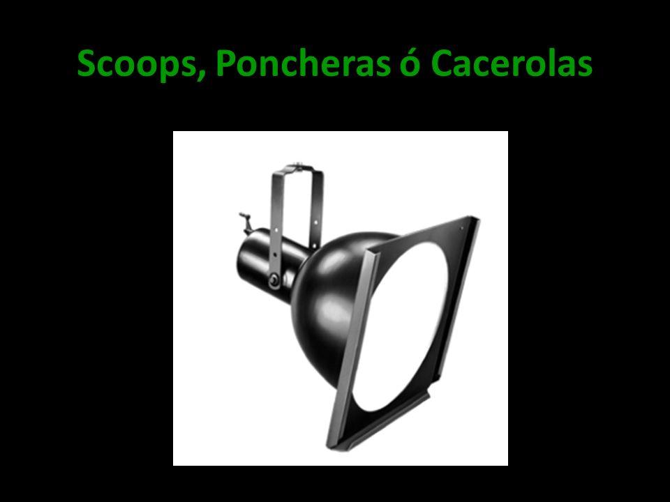 Scoops, Poncheras ó Cacerolas