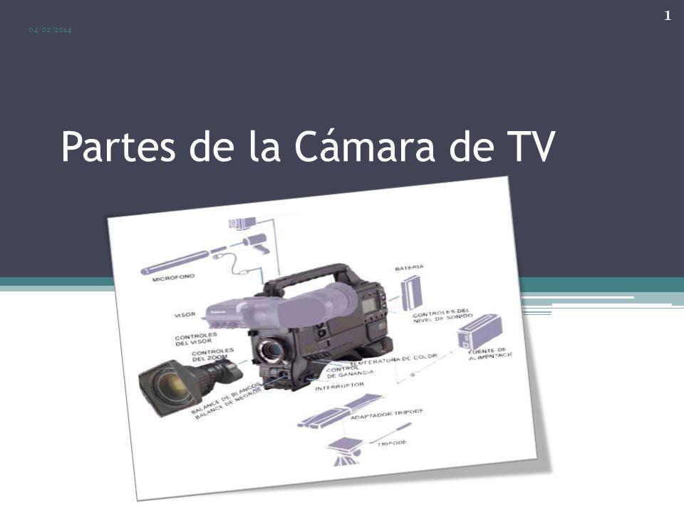 Partes de la Cámara 04/02/2014 2 Como vimos en le presentación anterior, los elementos principales de la cámara son: