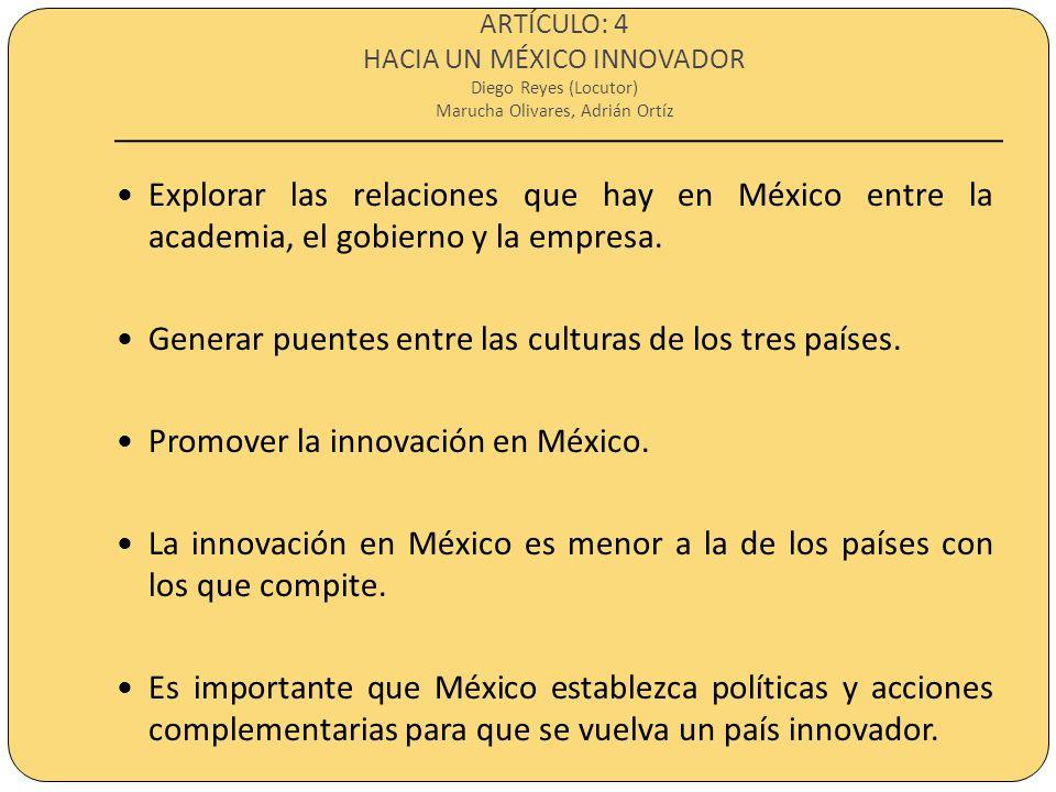 ARTÍCULO: 5 LA DESAPARICIÓN ANUNCIADA DE LOS CIENTÍFICOS MEXICANOS Max Munguía (Locutor) Ceci Lopez En 20 años no habrá científicos mexicanos.
