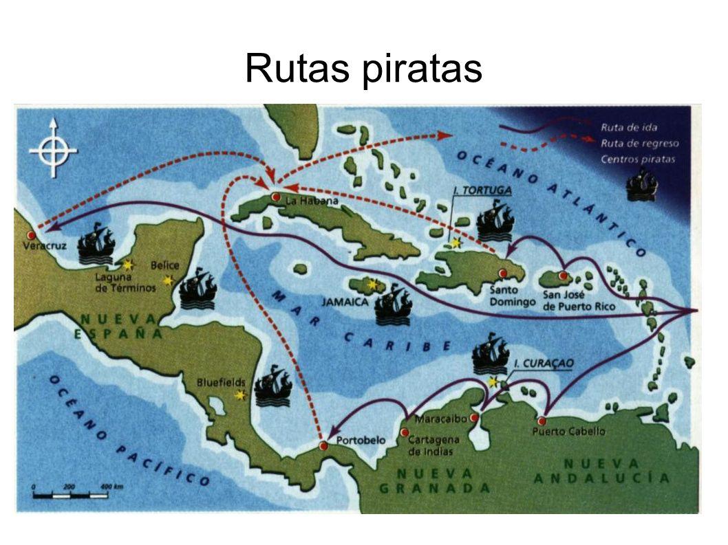 Rutas piratas