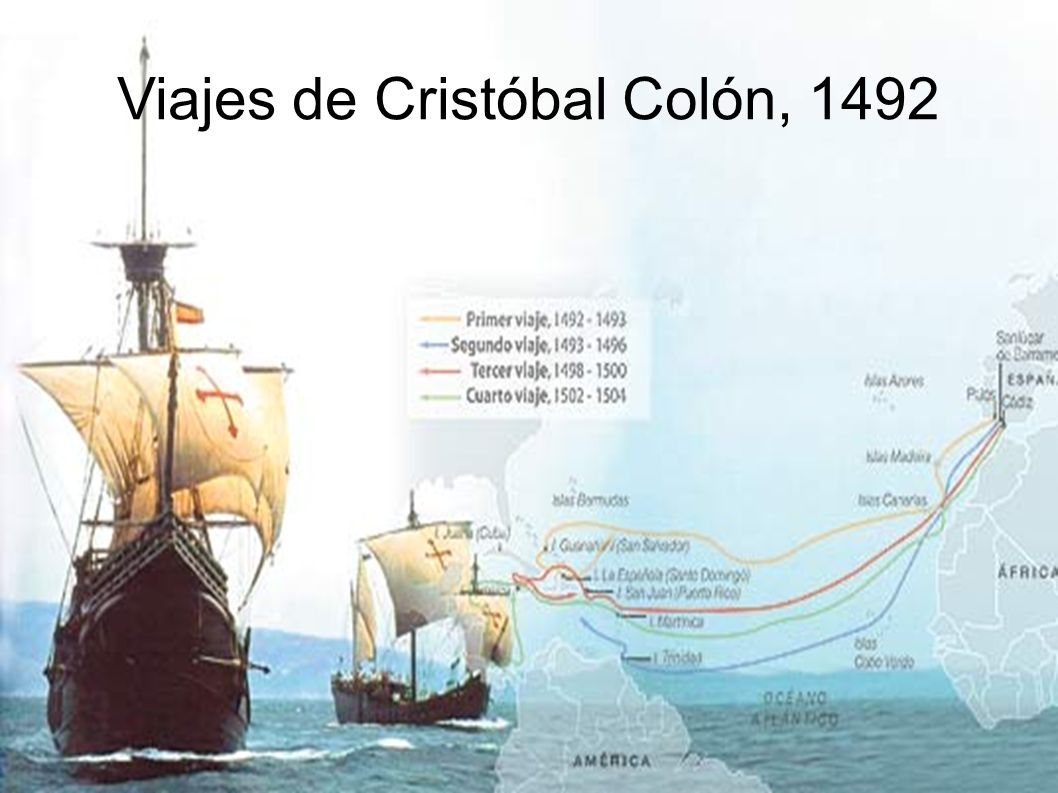 Viajes de Cristóbal Colón, 1492