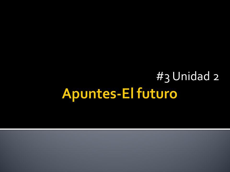 #3 Unidad 2