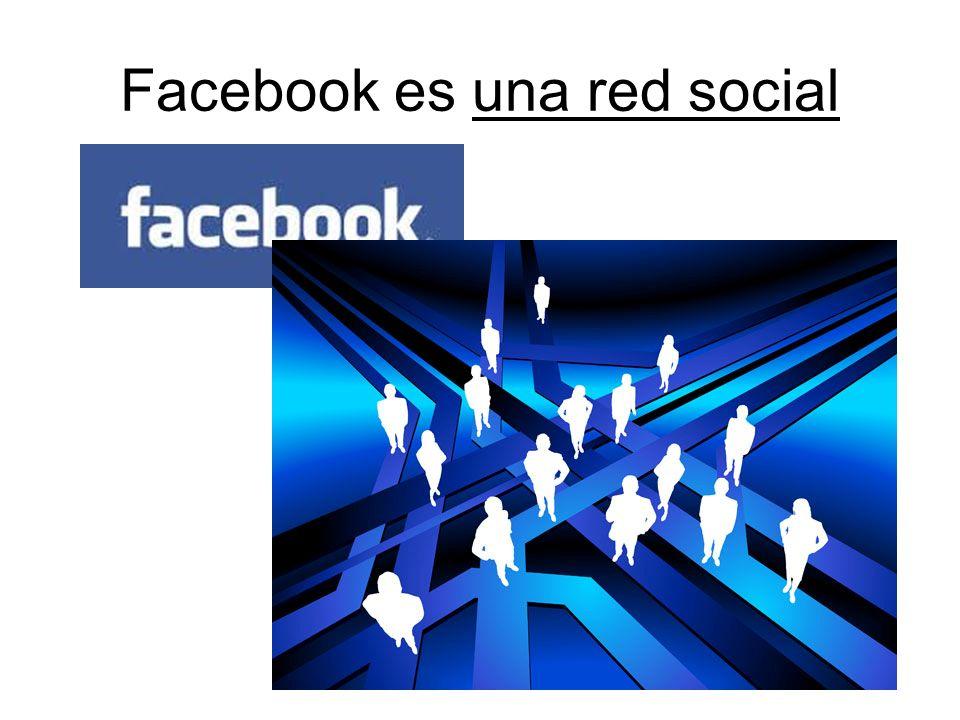 Facebook es una red social
