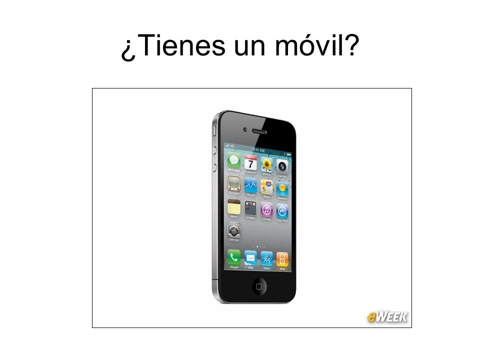 ¿Tienes un móvil?