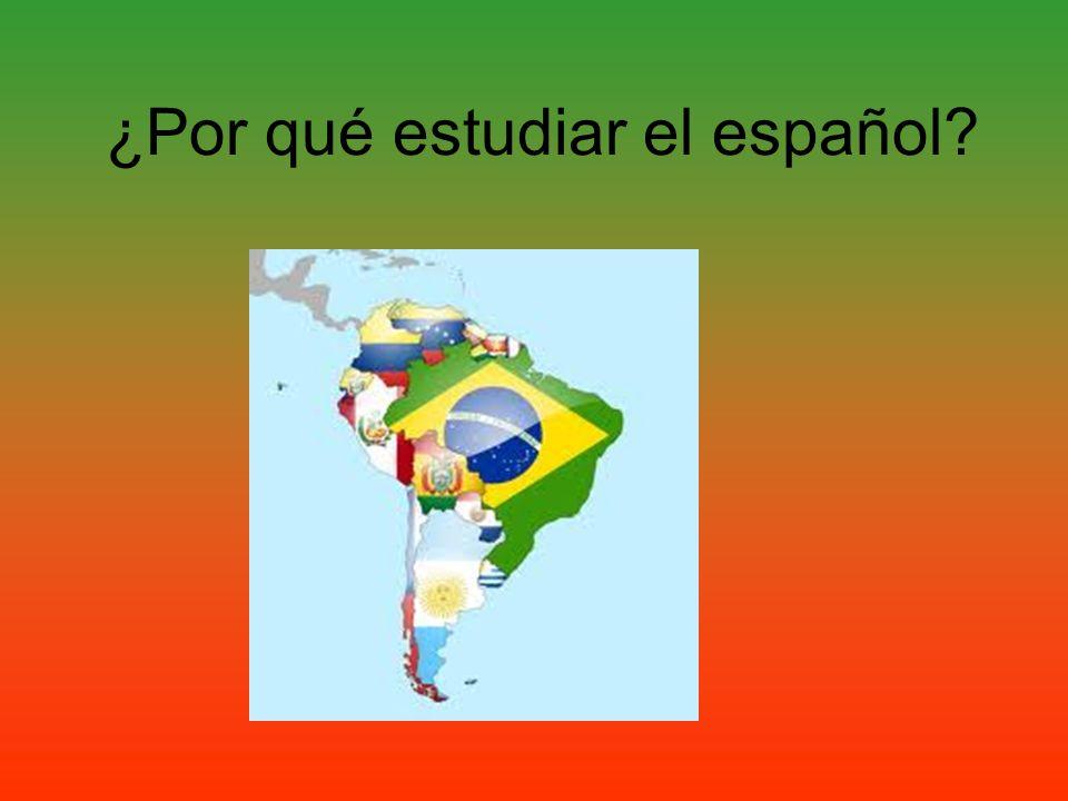 ¿Por qué estudiar el español?