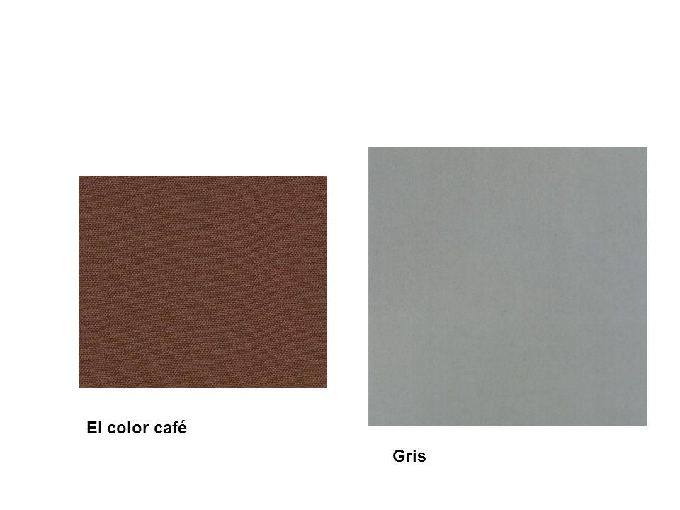 El color café Gris