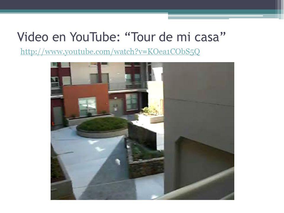 Video en YouTube: Tour de mi casa http://www.youtube.com/watch?v=KOea1CObS5Q