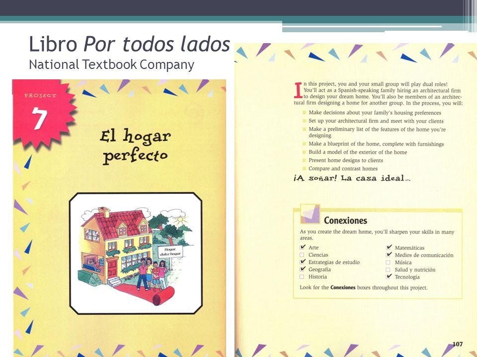 Libro Por todos lados National Textbook Company