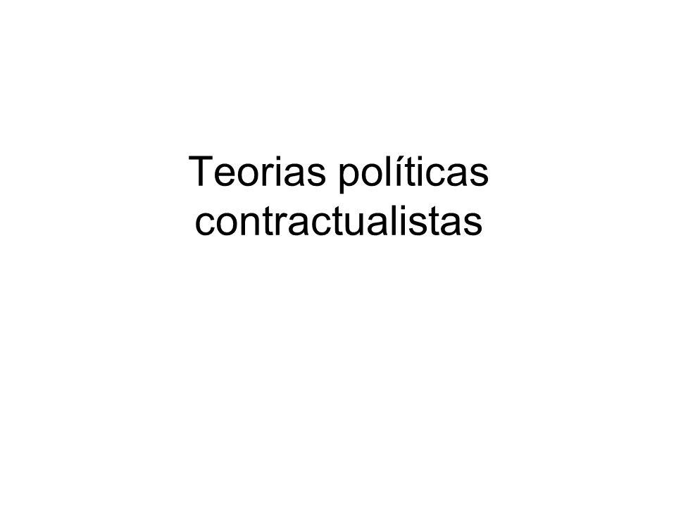 Teorias políticas contractualistas